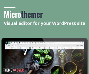 Microthemer - Visual editor for your WordPress site