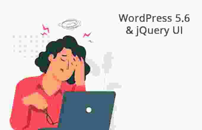 WordPress 5.6 jQuery UI
